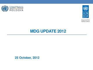 MDG  UPDATE 2012