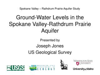 Ground-Water Levels in the Spokane Valley-Rathdrum Prairie Aquifer