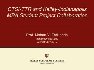 Kelley-Indianapolis MBAs