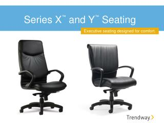 Series X ™  and Y ™  Seating