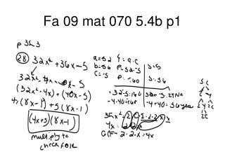 Fa 09 mat 070 5.4b p1