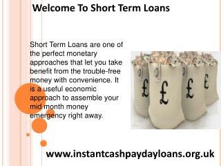 Meet Emergency Necessities Rapidly With Short Term Loans