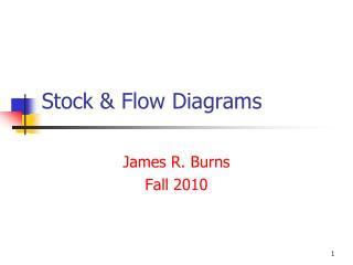 Stock  Flow Diagrams