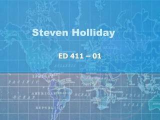 Steven Holliday
