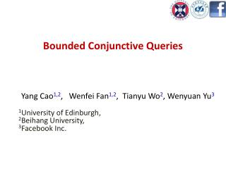 Bounded Conjunctive Queries