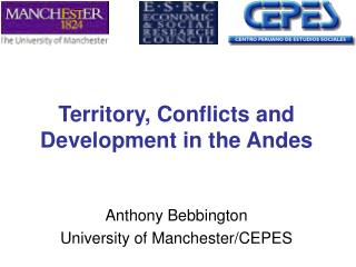 Territory, Conflicts and Development in the Andes