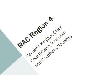 RAC Region 4