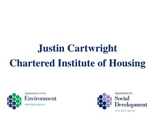 Justin Cartwright Chartered Institute of Housing