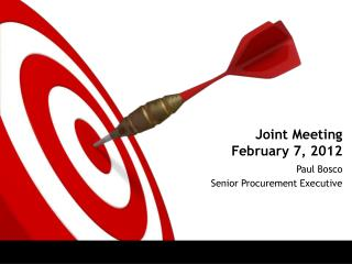 Joint Meeting February 7, 2012