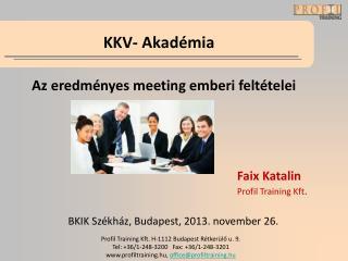 KKV- Akadémia