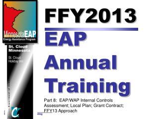 FFY2013  EAP  Annual  Training