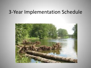 3-Year Implementation Schedule