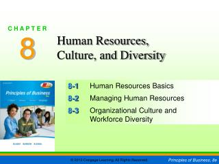 8-1 	Human Resources Basics 8-2 	Managing Human Resources