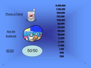 $1,000,000 $ 500,000 $250,000 $125,000 $100,000 $65,000 $34,000 $20,000 $10,000 $ 5,000 $ 2,500