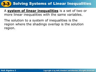 Graph the system of inequalities, and classify the figure created by the solution region.