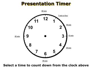Presentation Timer