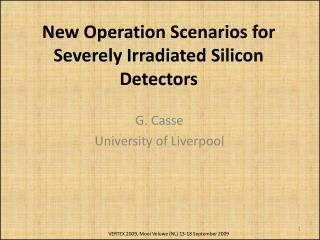 New Operation Scenarios for Severely Irradiated Silicon Detectors