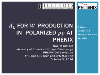 For   Production in  polarized   at PHENIX