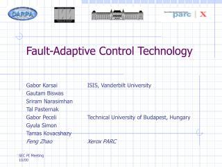 Fault-Adaptive Control Technology