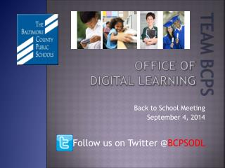 Office of  Digital Learning