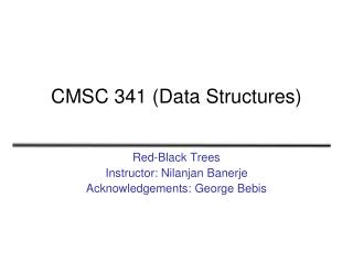 CMSC 341 (Data Structures)