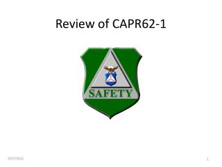 Review of CAPR62-1