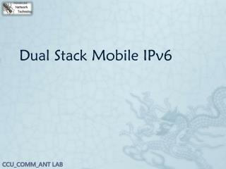 Dual Stack Mobile IPv6