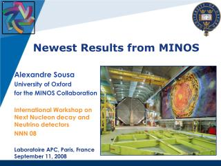 Newest Results from MINOS