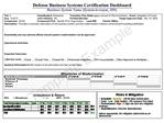 Defense Business Systems Certification Dashboard Business System Name SystemAcronym_ID