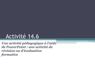 Activit�  14.6