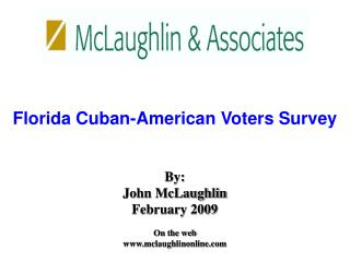 Florida Cuban-American Voters Survey