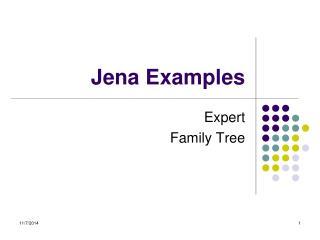 Jena Examples