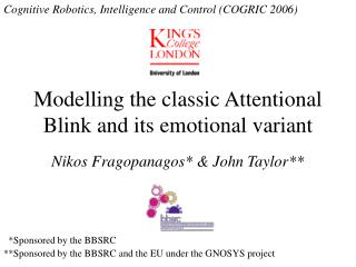 Modelling the classic Attentional Blink and its emotional variant