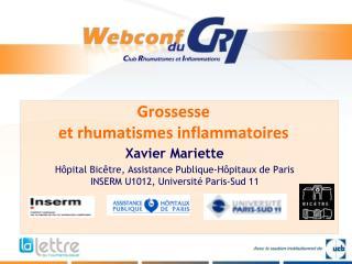 Grossesse  et rhumatismes inflammatoires