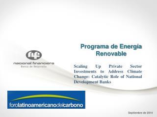 Programa de Energía Renovable