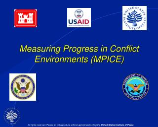 Measuring Progress in Conflict Environments (MPICE)