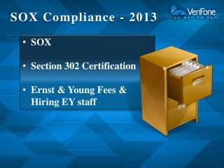 SOX Compliance - 2013