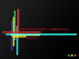 Identifying Graphs - Families of curves
