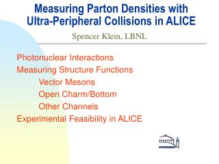 Measuring Parton Densities with Ultra-Peripheral Collisions in ALICE