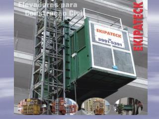 1- DIVISÃO DE ELEVADORES PARA CONSTRUÇÃO CIVIL