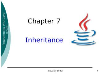 Chapter 7 Inheritance