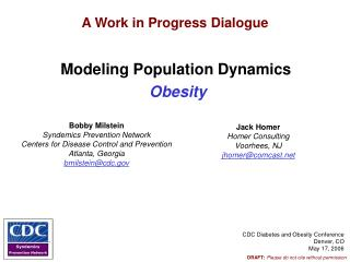 Modeling Population Dynamics