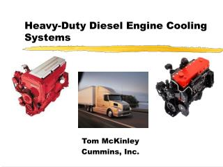 Heavy-Duty Diesel Engine Cooling Systems