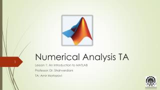 Numerical Analysis TA