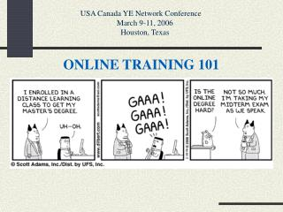 ONLINE TRAINING 101