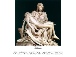 Pieta St. Peter's Basilica, Vatican, Rome