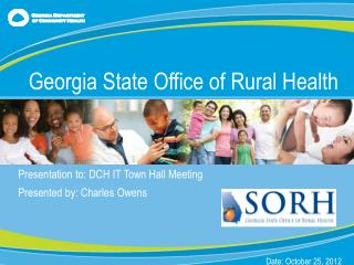 Presentation  to: DCH IT Town Hall Meeting Presented by : Charles Owens