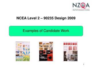 NCEA Level 2   90235 Design 2009