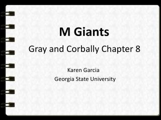 M Giants Gray and  Corbally  Chapter 8