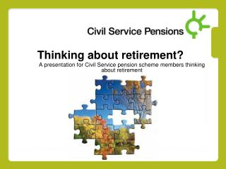Thinking about retirement?